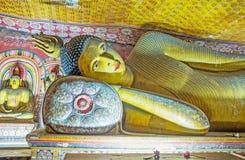 Lord Buddha de reclinação Fotografia de Stock