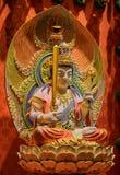 Lord Buddha in de Tempel van het Tandoverblijfsel, Singapore Royalty-vrije Stock Foto