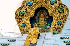 Lord Buddha Descending till jord Royaltyfria Bilder