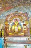 Lord Buddha em Dragon Arch Imagem de Stock