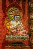 Lord Buddha im Zahn-Relikt-Tempel, Singapur Lizenzfreie Stockfotos