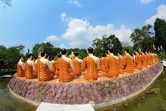 Lord of buddha Royalty Free Stock Image