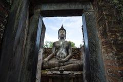 Lord Buddha Image At Wat Srichum en parc historique de Sukhothai Photo libre de droits