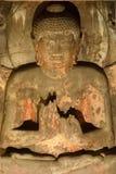 Lord Buddha nella posizione della meditazione fotografie stock libere da diritti