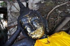 Lord Buddha no templo Imagens de Stock