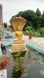 Lord Buddha in Sarnath Varanasi royalty-vrije stock foto's
