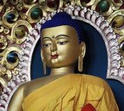 Lord buddha statue. Beautiful shot of lord buddha statue at dalai lama temple, mcLeodganj himachal pradesh in india Stock Photo