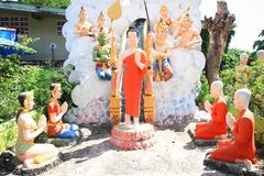 Lord Buddha statue Stock Images