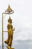 Lord Buddha staty Arkivfoto