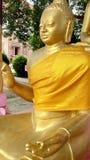 Lord Buddha staty på sarnath Arkivbild