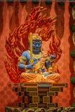 Lord Buddha in tempio della reliquia del dente, Singapore Immagine Stock