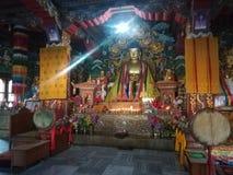 Lord Buddha Temple, Bodhgaya royalty free stock images