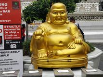 Lord Buddha wat Arun Thailand royalty free stock photos