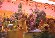 Lord Budha and his disciple Stock Photo