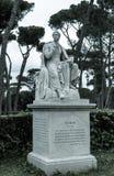 Lord Byron-Statue Stockbilder