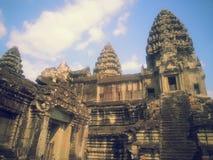 Lord Castle de Angkor Wat imagens de stock royalty free