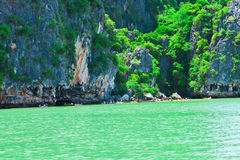 Lord cave,the attractive place of Thailand Stock Image