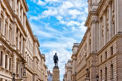 Lord Clive monument in London, UK Stock Photography