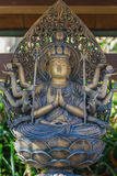 Lord of Compassion at Haseder Temple in Kamakura Royalty Free Stock Images