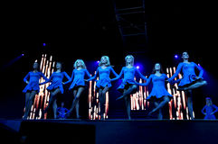 Lord of the Dance performing live Royalty Free Stock Photo