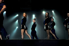 Lord of the Dance performing live Royalty Free Stock Image