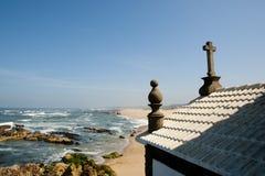 Lord der Felsen-Kapelle - Portugal Stockbild