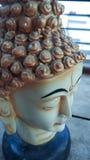Lord des Buddha-Statuenhintergrundes Stockfoto