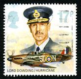 Lord Dowding UK Postage Stamp Royalty Free Stock Photography