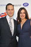 Lord Frederick Windsor & Sophie Winkleman. LOS ANGELES, CA - APRIL 23, 2013: Lord Frederick Windsor & actress wife Sophie Winkleman at the launch party for Stock Photography
