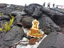Lord Ganesh in der großen Insel Hawaii USA lizenzfreies stockfoto