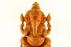 Lord Ganesh / Figurine Sri Ganesha / Indian religion statue. Lord Ganesh / Figurine Sri Ganesha / Indian religion statue on isolated white studio background Royalty Free Stock Photos