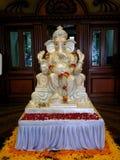 Lord Ganesh Idol. Lord Ganesha& x27;s Idol is displayed Stock Image