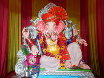 Lord Ganesh King of all gods-II Stock Images