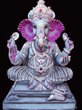 Lord Ganesha. A beautifully carved idol of Lord Ganesha with big ears, of the Hindu religion Royalty Free Stock Image