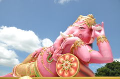 Lord Ganesha. Biggest Lord Ganesha statue in the world, Chachoengsao Thailand Royalty Free Stock Photos