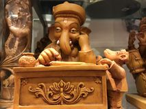 Lord Ganesha arkivfoto