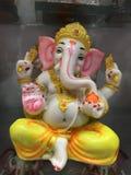 Lord Ganesha royaltyfria foton
