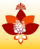 Lord Ganesha Art Images stock
