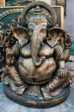 Lord Ganesha, Art work , Indian handicrafts fair at Kolkata Royalty Free Stock Images