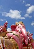 Lord Ganesha and blue sky royalty free stock image
