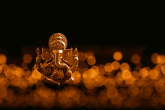 Lord Ganesha with Blured bokhe background Stock Images
