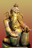 Lord Ganesha - clay idol Stock Photos