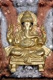 Lord Ganesha clay idol Royalty Free Stock Photography