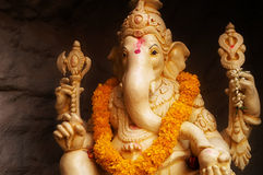 Lord Ganesha Deity foto de stock royalty free