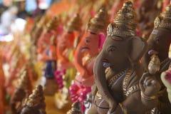 Lord Ganesha eco-friendly idol Stock Photo