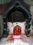 Lord Ganesha em Kathmandu durante o festival foto de stock royalty free