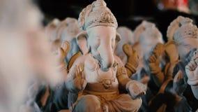 Lord Ganesha Ganesha festival arkivfilmer
