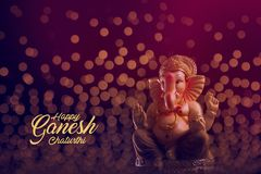 Lord Ganesha, festival de Ganesha image libre de droits