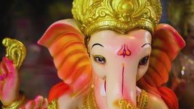 Lord Ganesha, festival de Ganesha video estoque