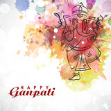 Lord Ganesha for Ganesh Chaturthi. Royalty Free Stock Photos